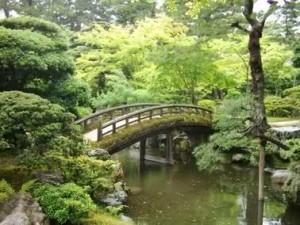 Le pont japonais peint par Monet