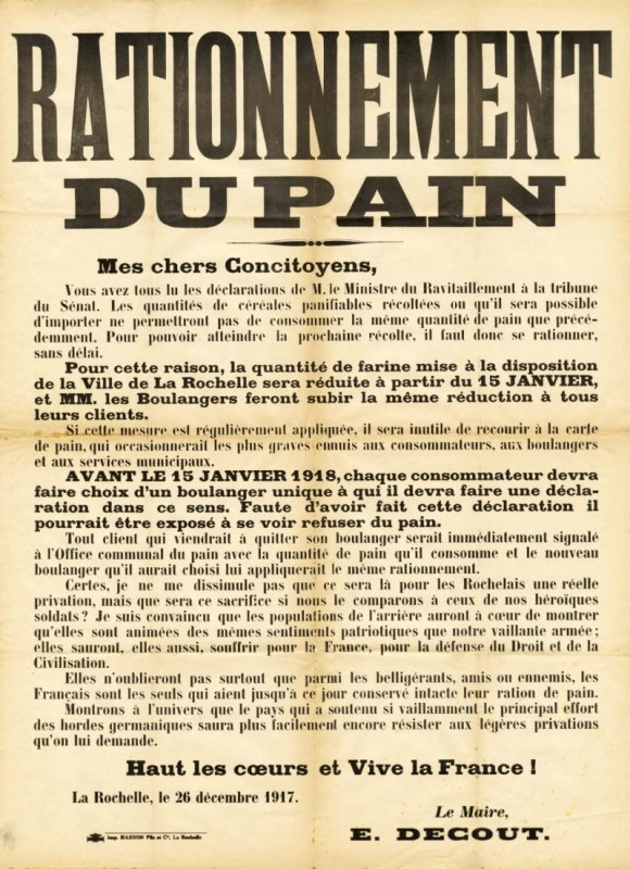 rationnement-du-pain