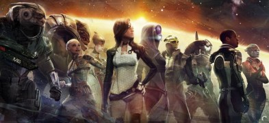 artwork van mass effect