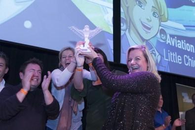 Little Chicken en KLM winnen Best Co-production