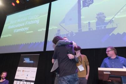 Vlambeer wint Best Mobile Game voor Ridiculous Fishing