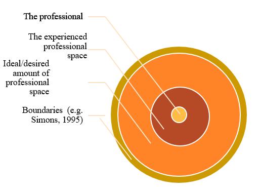 Model van professionele ruimte