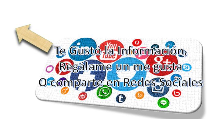 Comparte en Redes Sociales