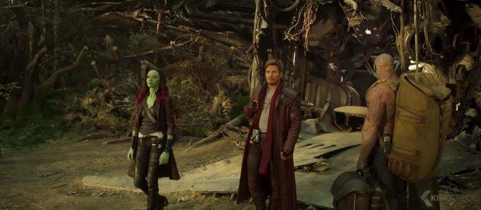 Screen Shot of Guardians of the Galaxy Vol. 2 film