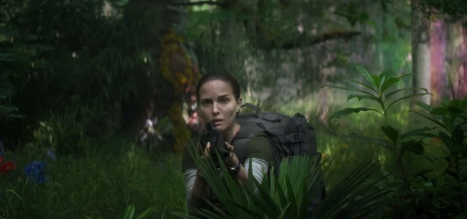 Screen Shot of Annihilation film