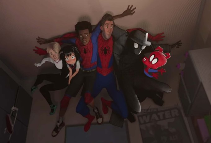 Spider-Man: Into the Spider-Verse Film Review Controller Companies