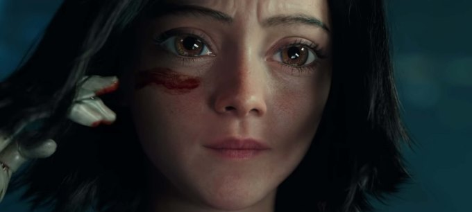 Alita: Battle Angel film review Alita herself