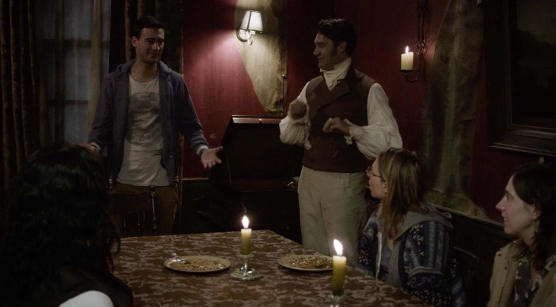 What we do in the shadows film review basguetti party