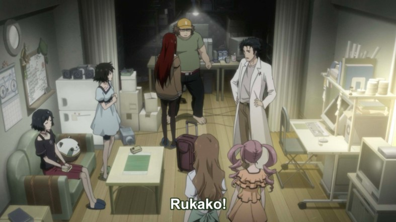 Steins Gate the movie film review all lab members