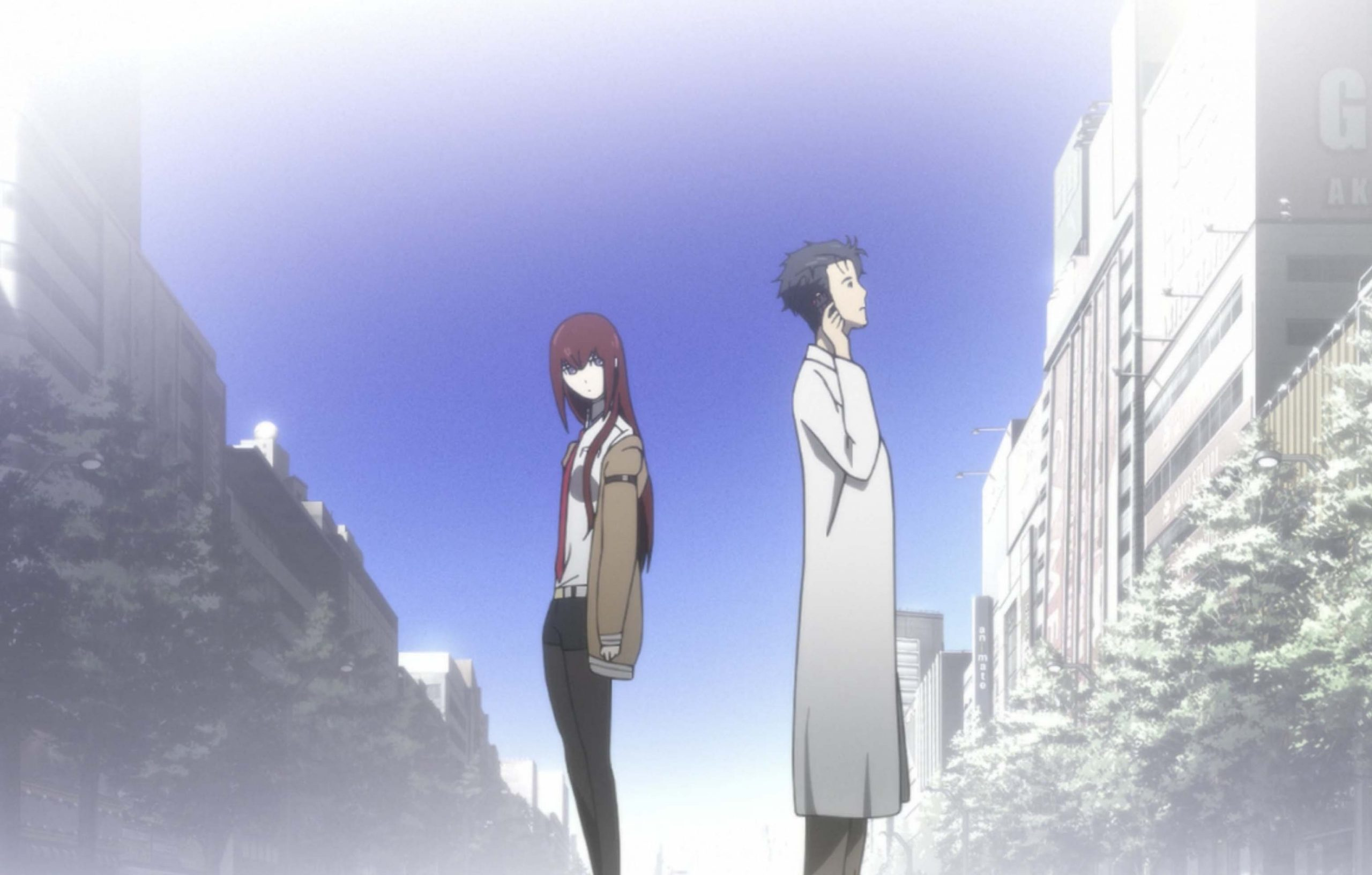 Steins Gate the movie film review post image controller companies