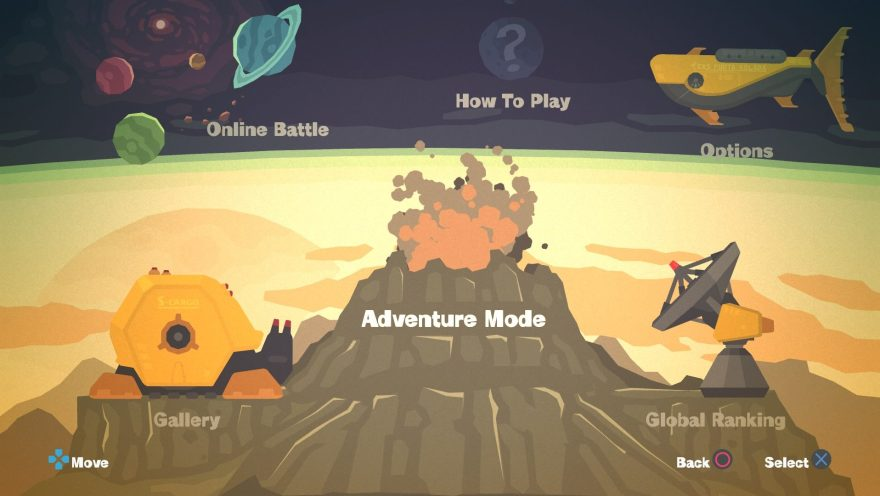 "Shooter 1 and 2 are now simply ""Adventure mode"""
