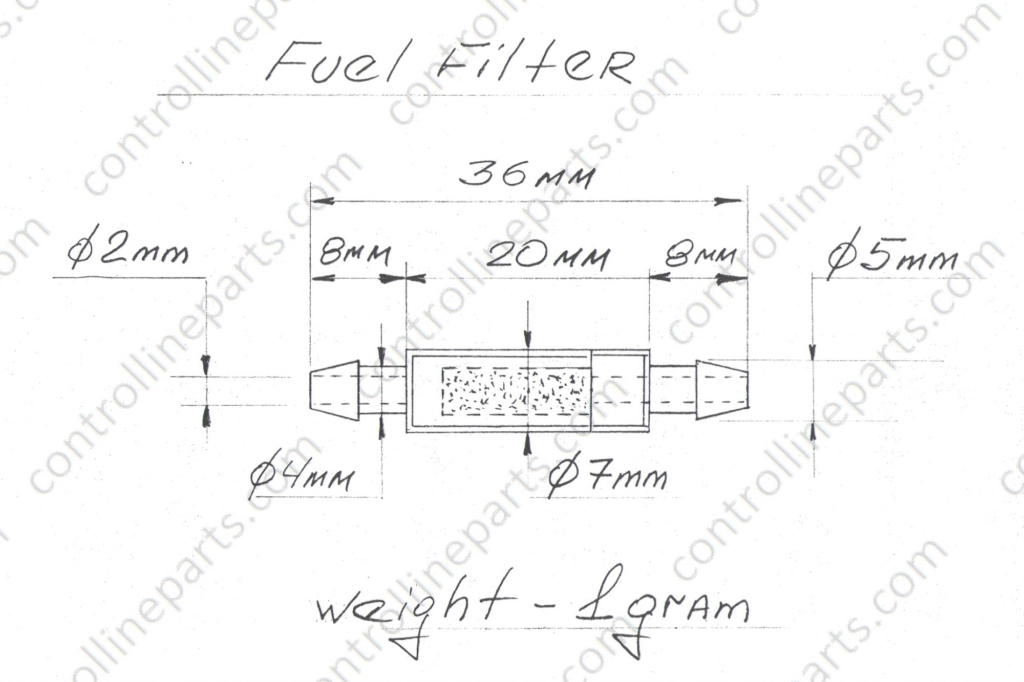 hight resolution of fuel filter stunt model