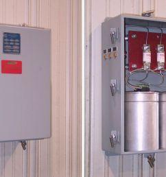 ac capacitor wiring diagram low voltage capacitor banks u2013 fixed controllixlow voltage capacitor banks u2013 fixed [ 1237 x 686 Pixel ]