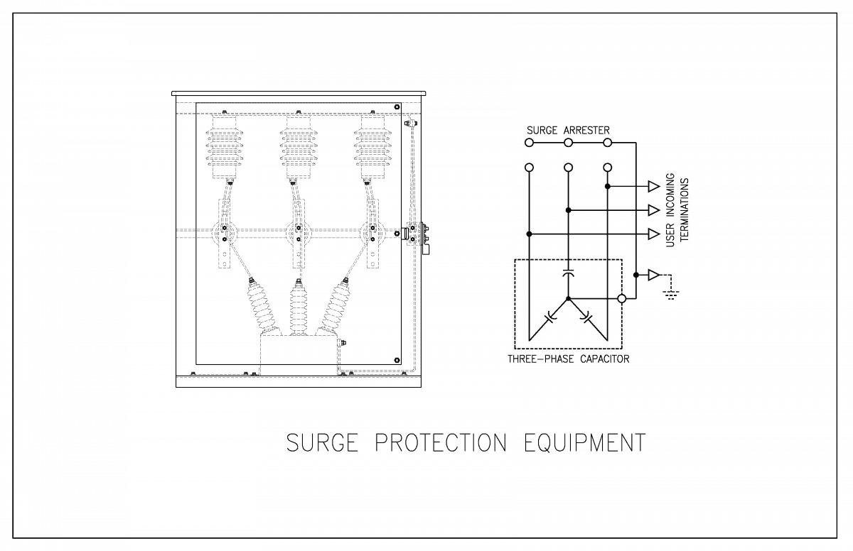 Medium Voltage Surge Protection Equipment