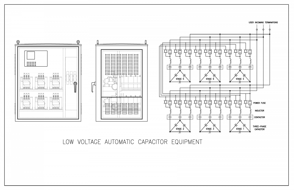 Low Voltage Capacitor Banks