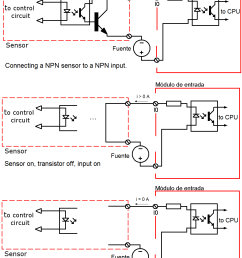 connecting npn sensor to npn input [ 1196 x 1525 Pixel ]