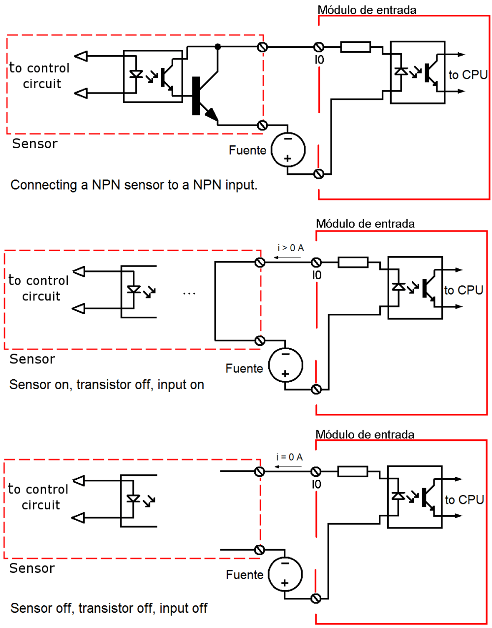 medium resolution of connecting npn sensor to npn input