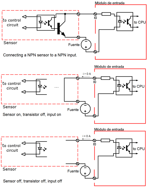 small resolution of connecting npn sensor to npn input