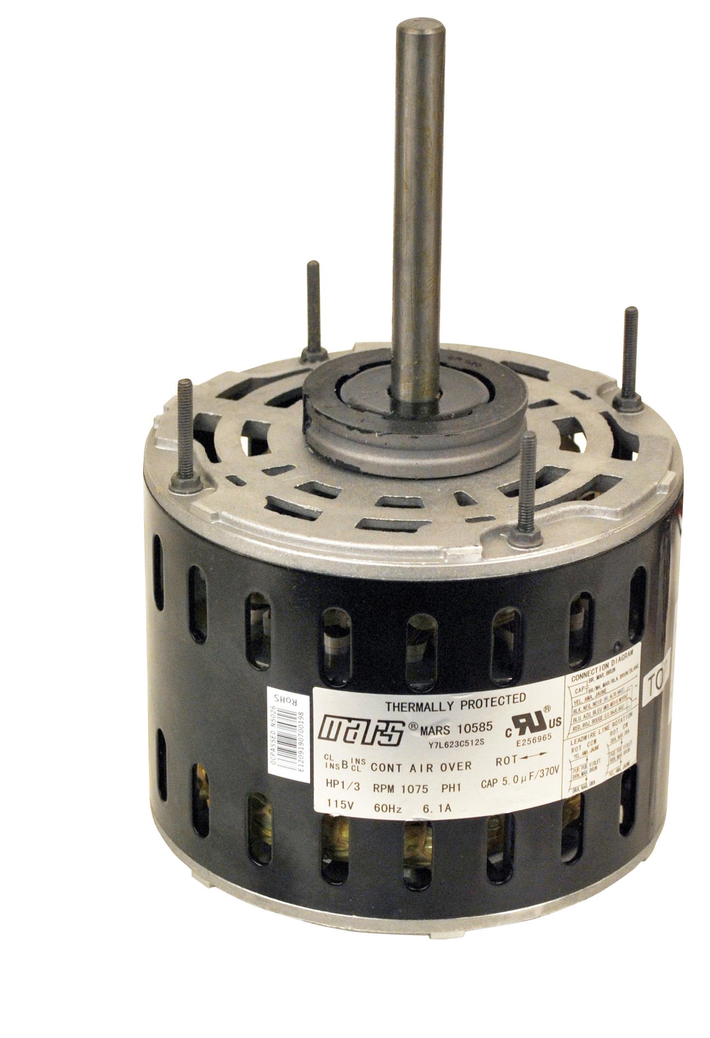 hight resolution of mars motors armatures inc 10588 mars 1 2 hp 208 230v direct drive at controls central