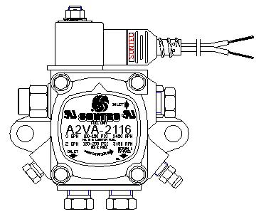 Suntec Industries, Inc. A1VA7112 Model A (Single Stage