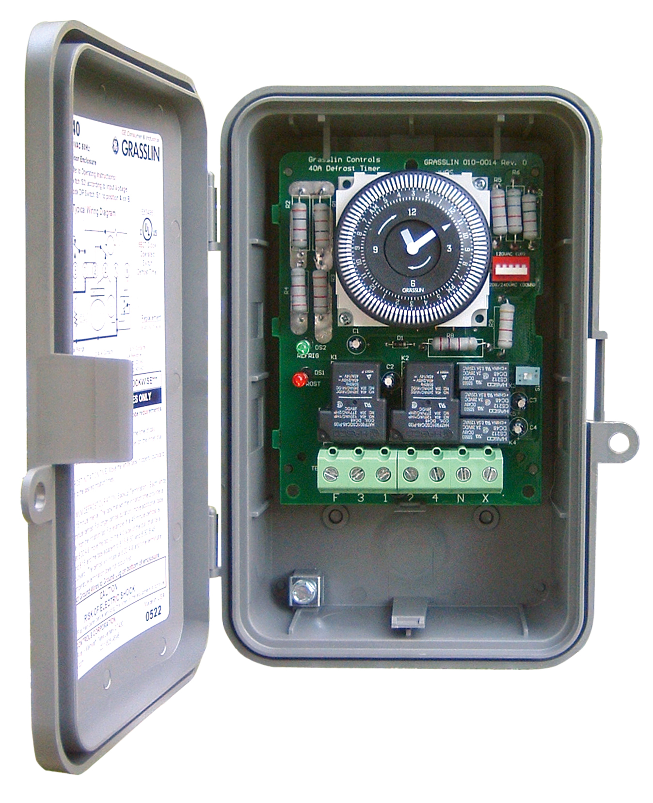 Intermatic Multi Circuit Freeze Protection Controls And Timer Clock