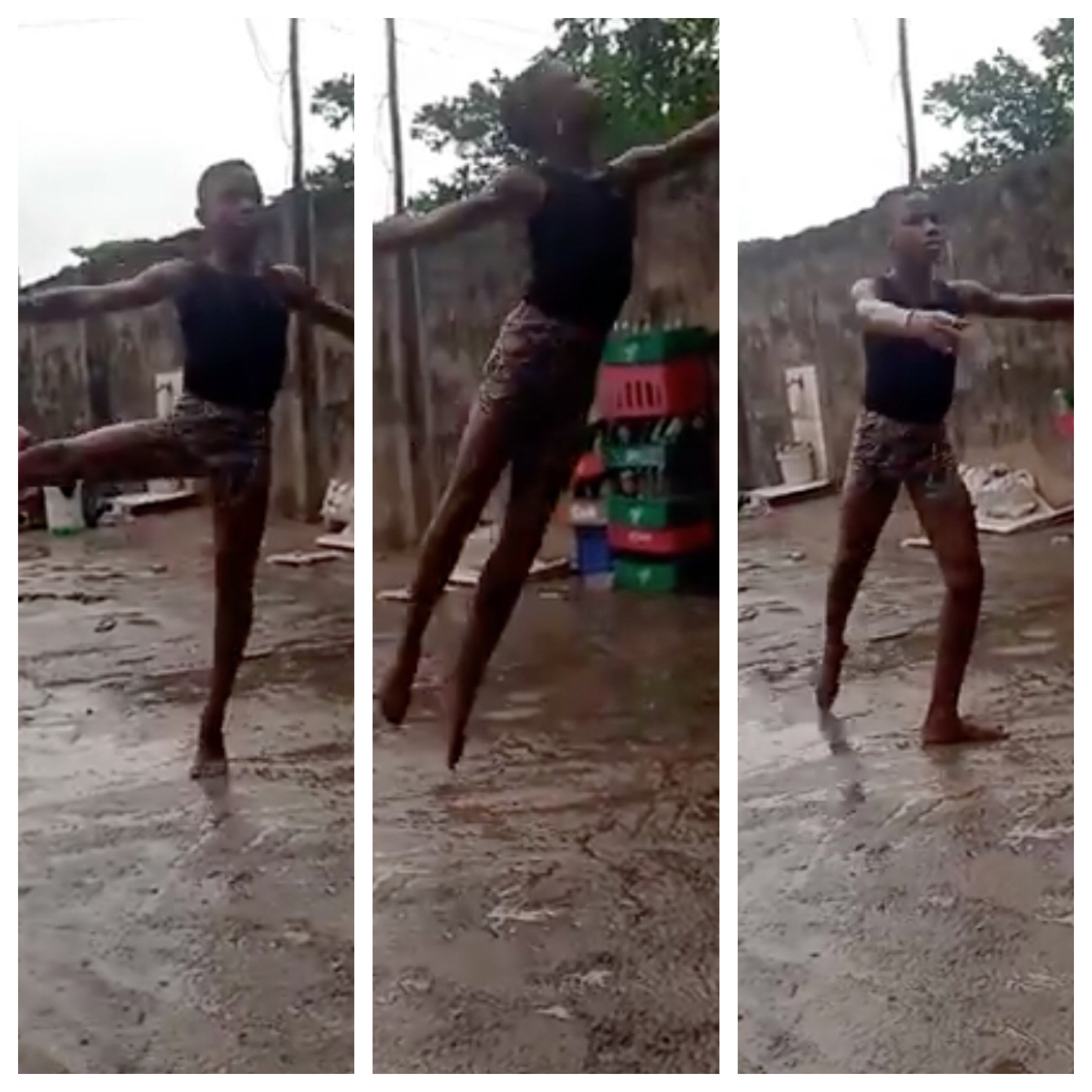 Young boy Who Went Viral for Dancing In the Rain, Gets Full Scholarship –  Control TV