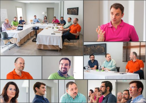 Collage OPTIMA LAB Jornadas Innovación Elche 2015