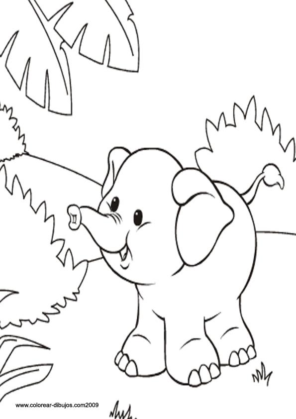 Dibujos de animales para colorear con tus propias manos