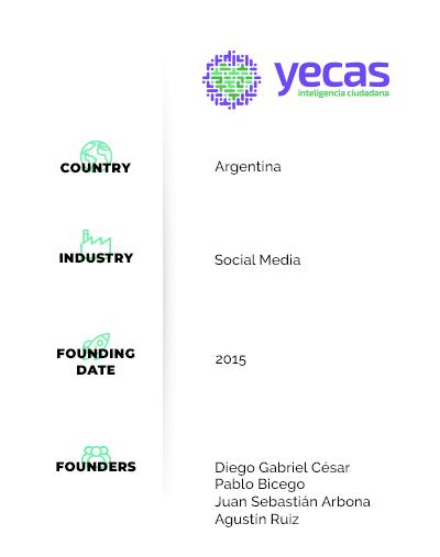 yecas, la plataforma que moviliza a las comunidades argentinas