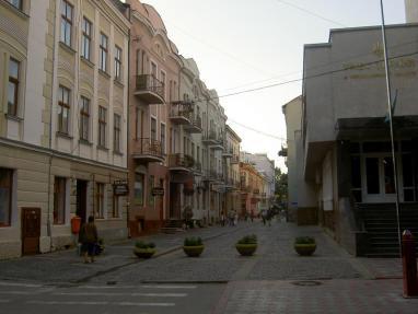 Ternopil_una de sus mas antiguas calles