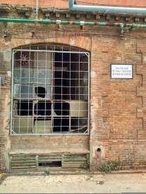 Detalle de una ventana de la nave principal