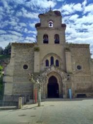 Exterior de Santa María la Mayor