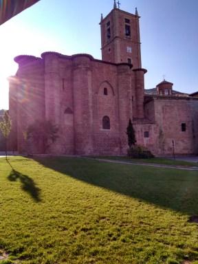 Imagen exterior del Monasterio Santa Maria la Real.