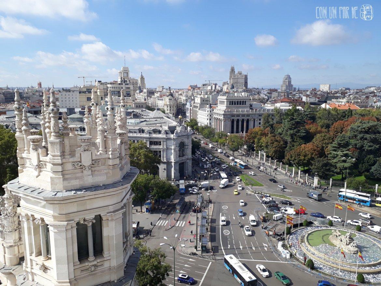 Madrid desde Cibeles