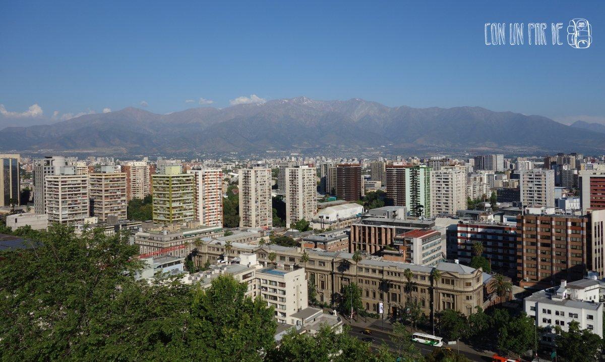 Panorámica Santiago de Chile