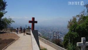 Cerro San Cristóbal Santiago
