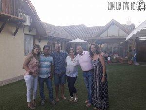 Mauro y familia