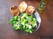 Brócoli salteado con ajo