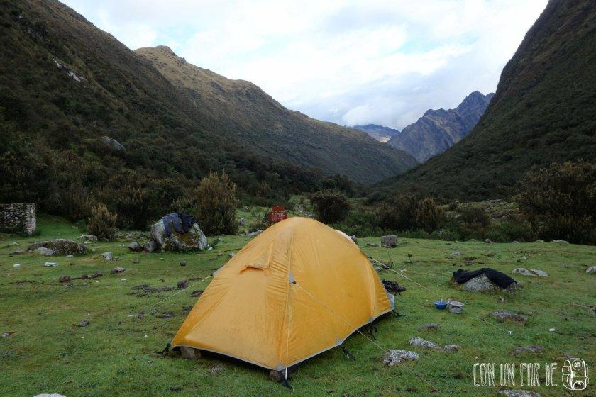 Al final despeja en el camping