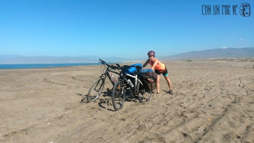 Primer viaje cicloturista
