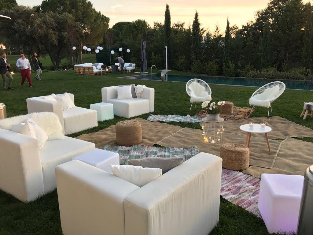 Mobiliario para fiestas privadas convdeb alquiler de mobiliario para eventos - Alquiler de casas para fiestas privadas ...