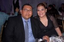 David Ortiz y Maricela Alpuche