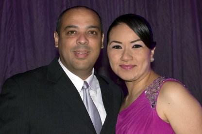 Ruben Valdéz y Raquel Lobato