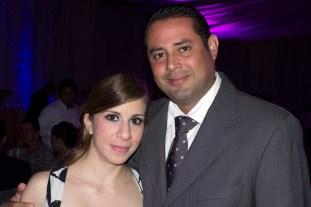 Victor Zavaleta y Joselyn Caballero