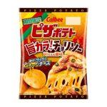 カルビー/夏向け旨辛で濃厚な「ピザポテト」