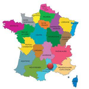 Carte Béziers Neussargues