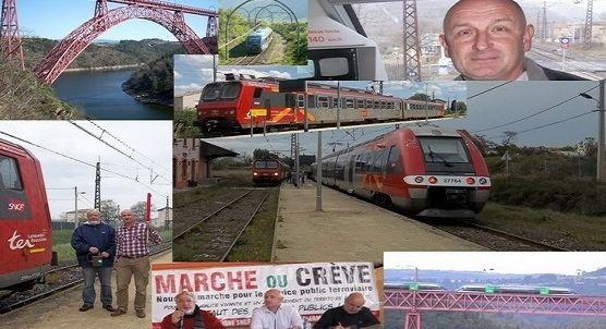 Non à la fermeture De la ligne SNCF Béziers - Neussargues - Clermont-Ferrand