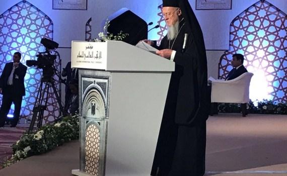 Patriarch Bartholomew I - Convergence Movement