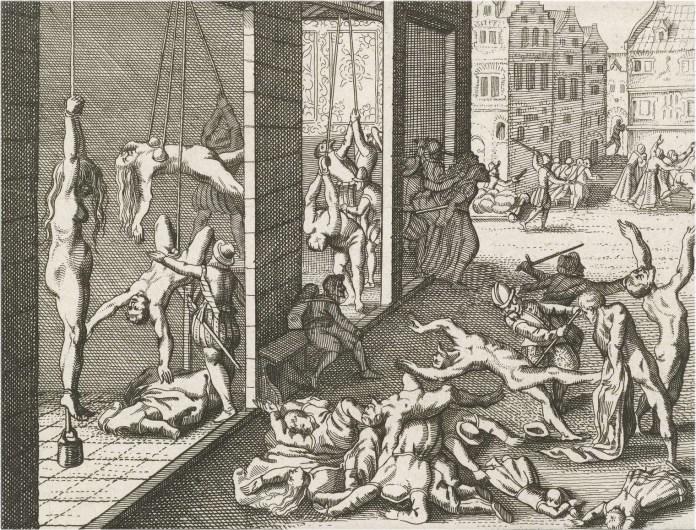 Spaanse_Furie,_plundering por Frans Hogenberg
