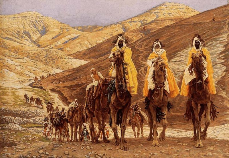 The Journey of the Magi by Tissot, 1894  Minneapolis Inst. of Arts